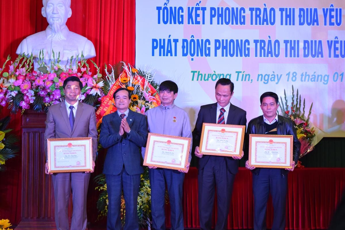 Ha Noi - Huyen thuong tin tong ket phong trao thi dua yeu nuoc 2015 - 6