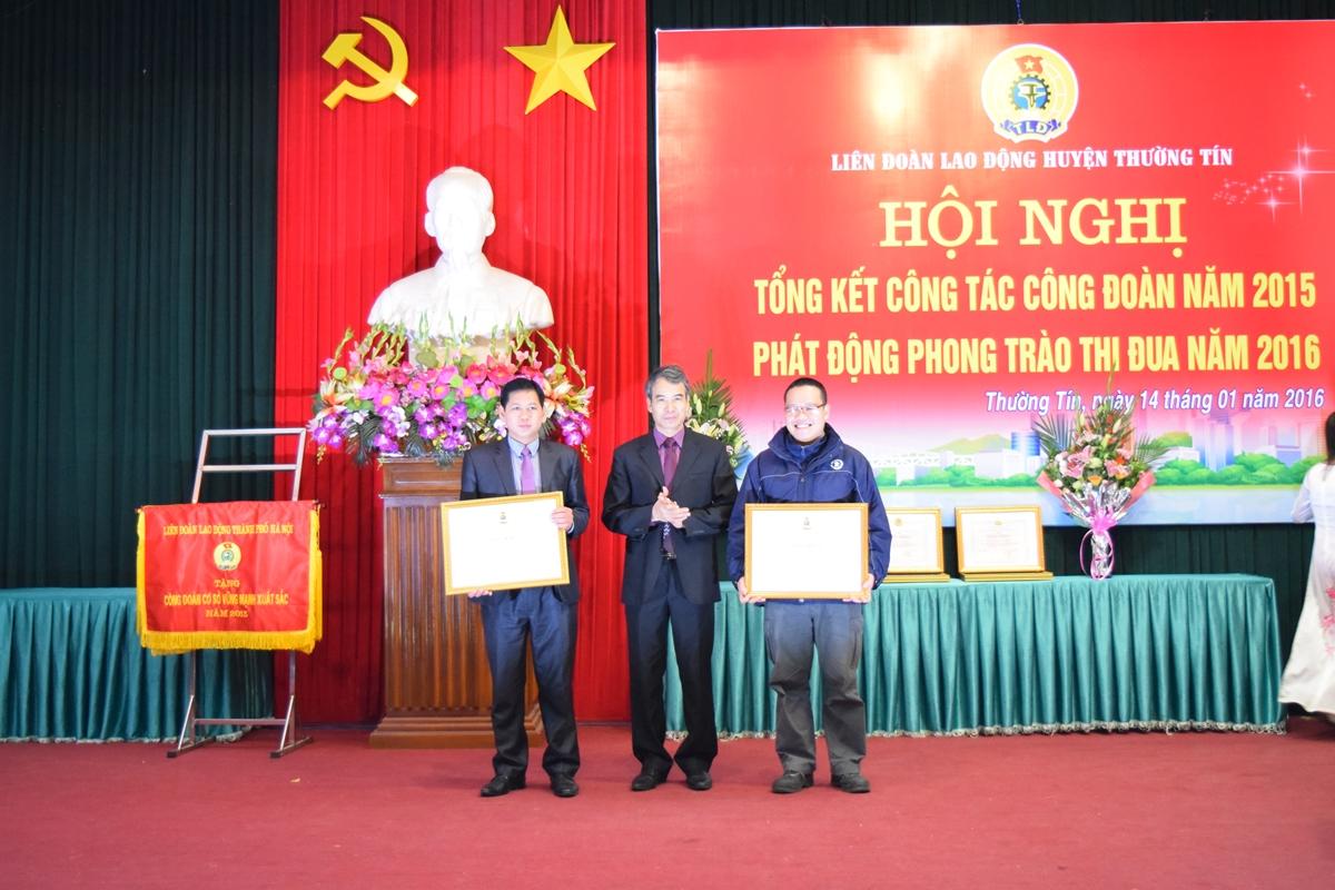 Hoi nghi tong ket lien doan lao dong thuong tin 2016 - 4